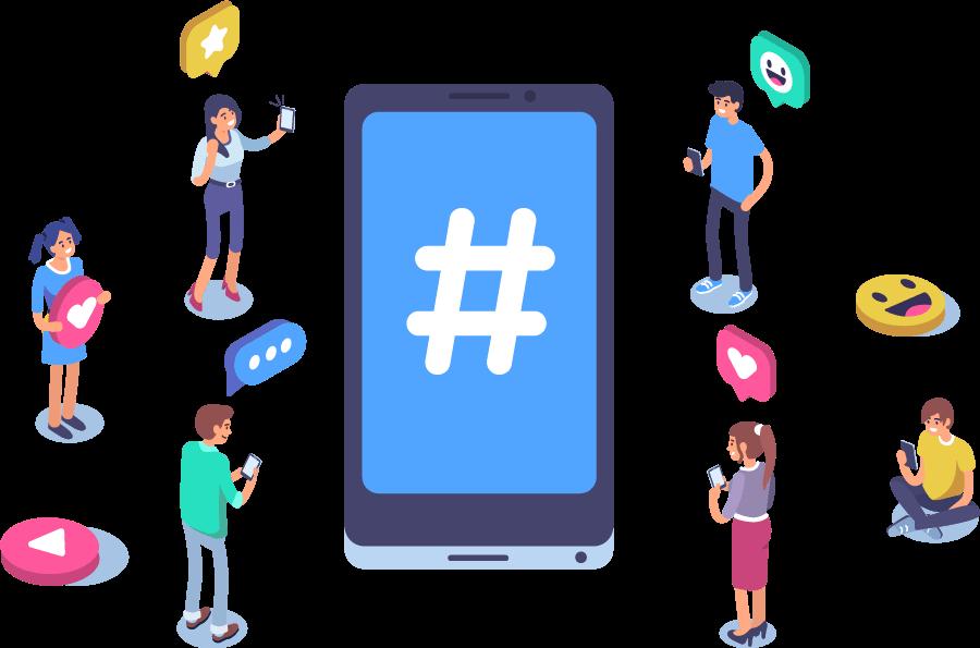 social media phone users