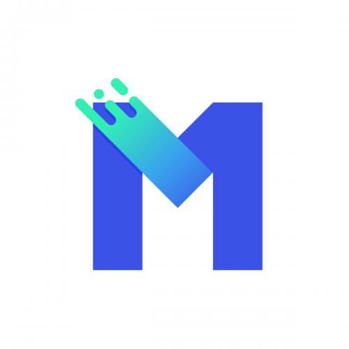 m logo social media avater